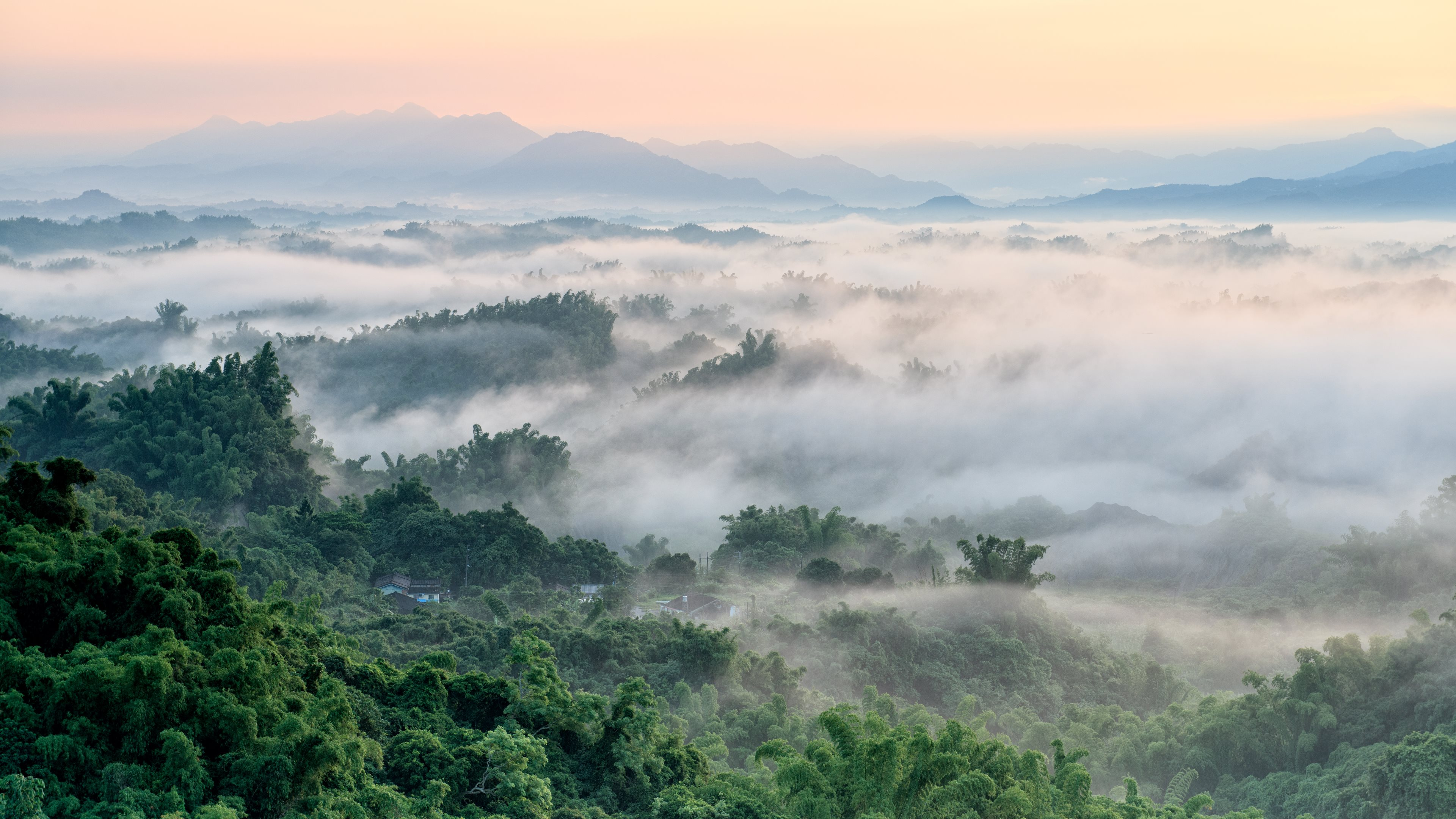 Foggy Landscape 4k Ultra Hd Wallpaper And Background Image