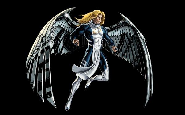 Comics Angel X-Men Warren Worthington III Wings Blonde HD Wallpaper | Background Image