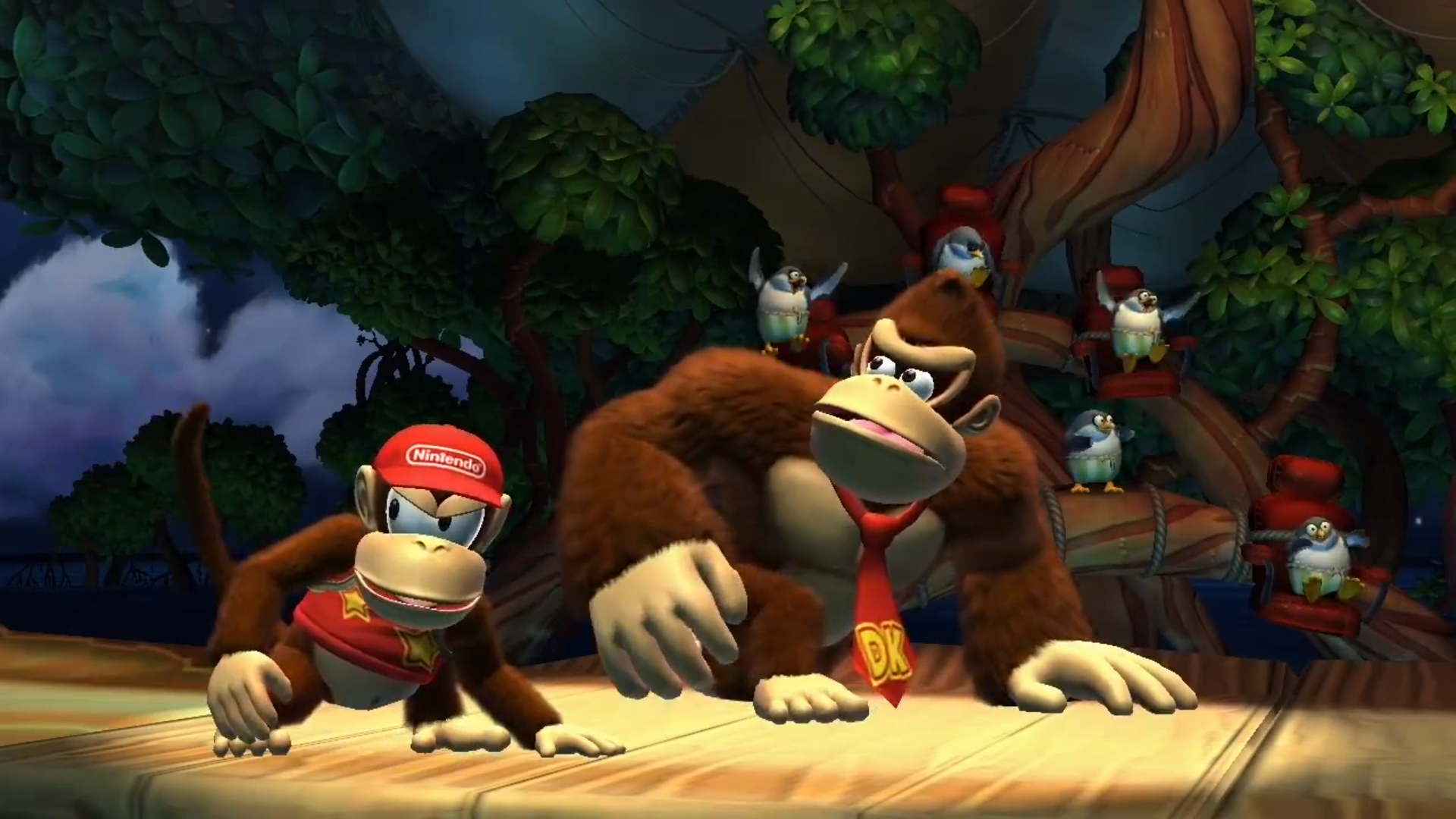 Donkey Kong Country Tropical Freeze Hd Wallpaper Background