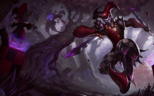 Video Game League Of Legends Shaco HD Wallpaper   Background Image