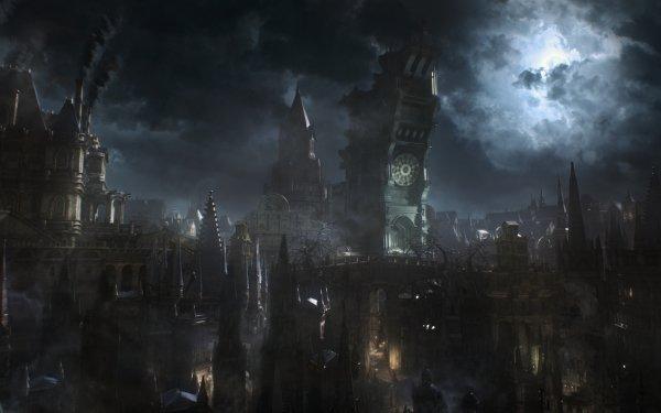 Videojuego Bloodborne Gótico Oscuro Fondo de pantalla HD | Fondo de Escritorio