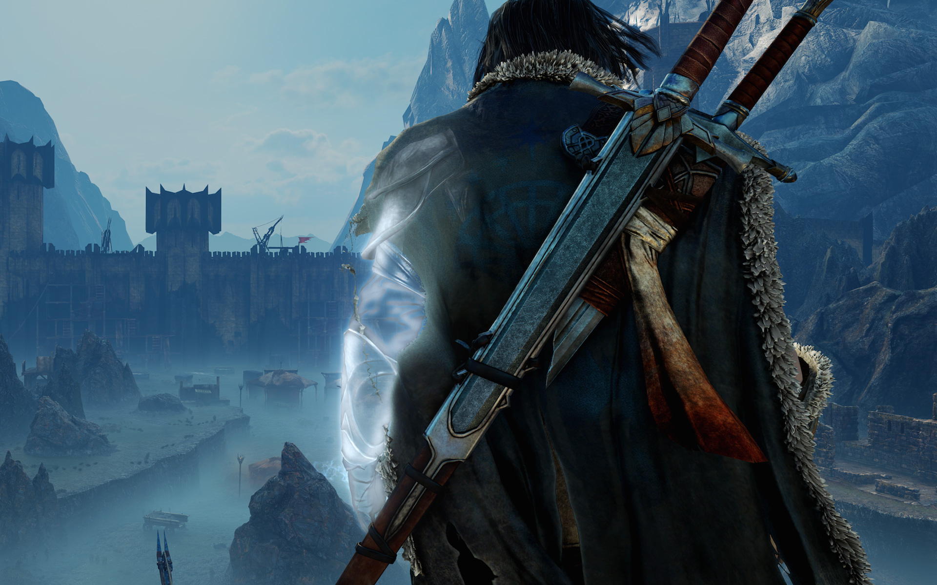 Middle earth shadow of mordor full hd wallpaper and - Middle earth iphone wallpaper ...
