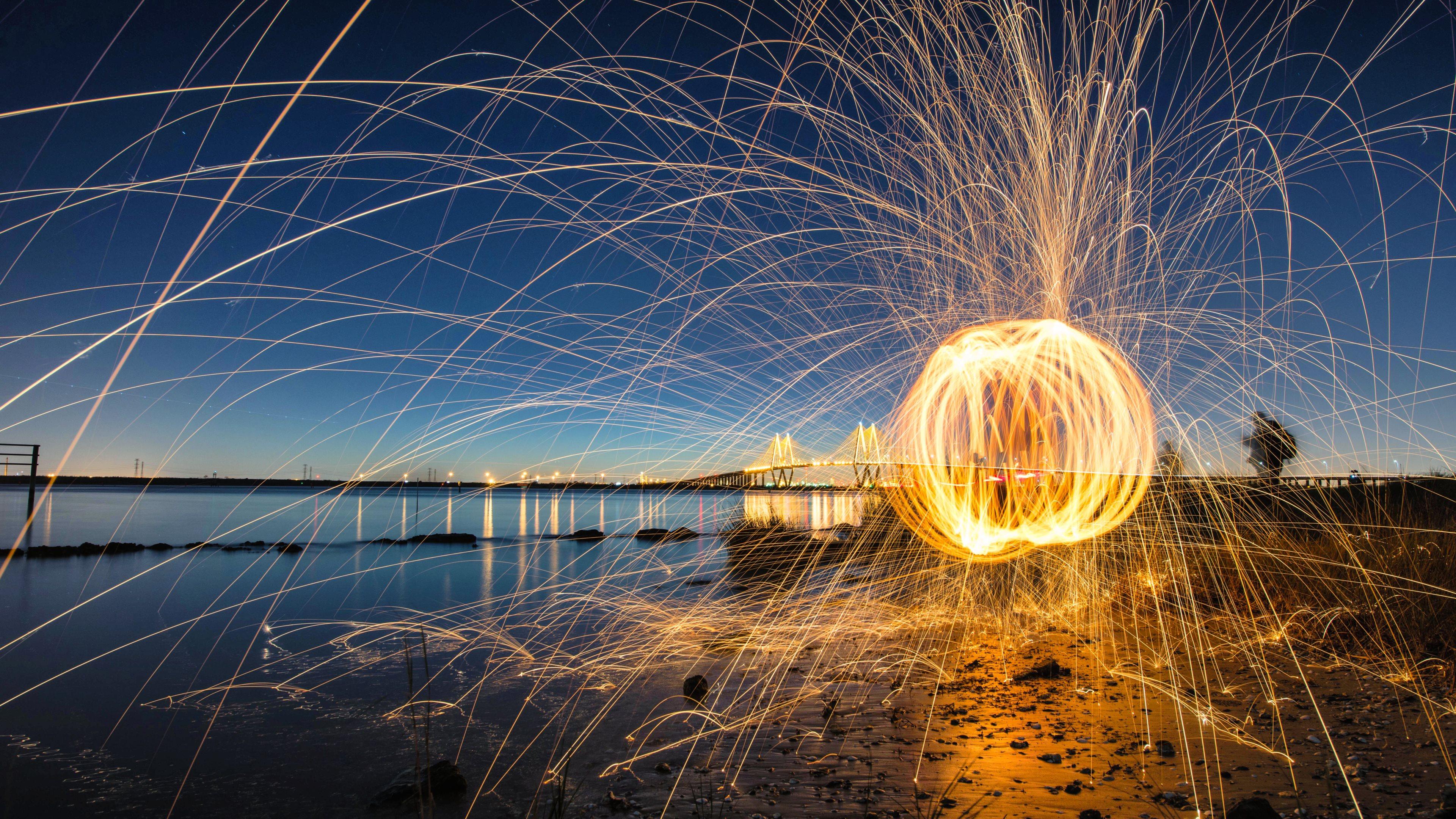 4k Hd Wallapaper: Fireworks 4k Ultra HD Wallpaper