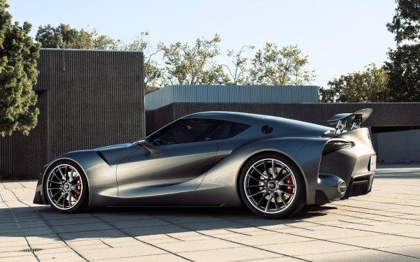 Véhicules Toyota FT-1 Toyota Supercar Voiture Concept Car Silver Car Fond d'écran HD | Image