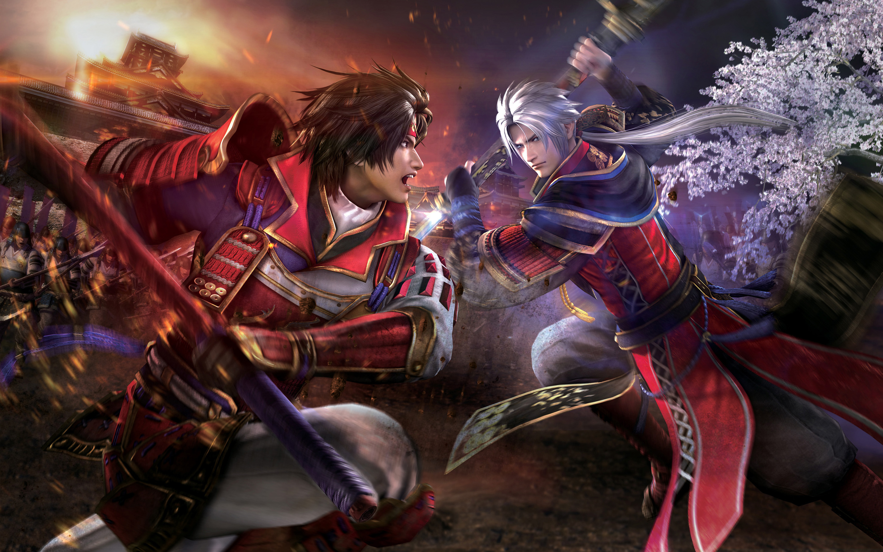 Samurai Warriors 4 Fondo De Pantalla Hd Fondo De