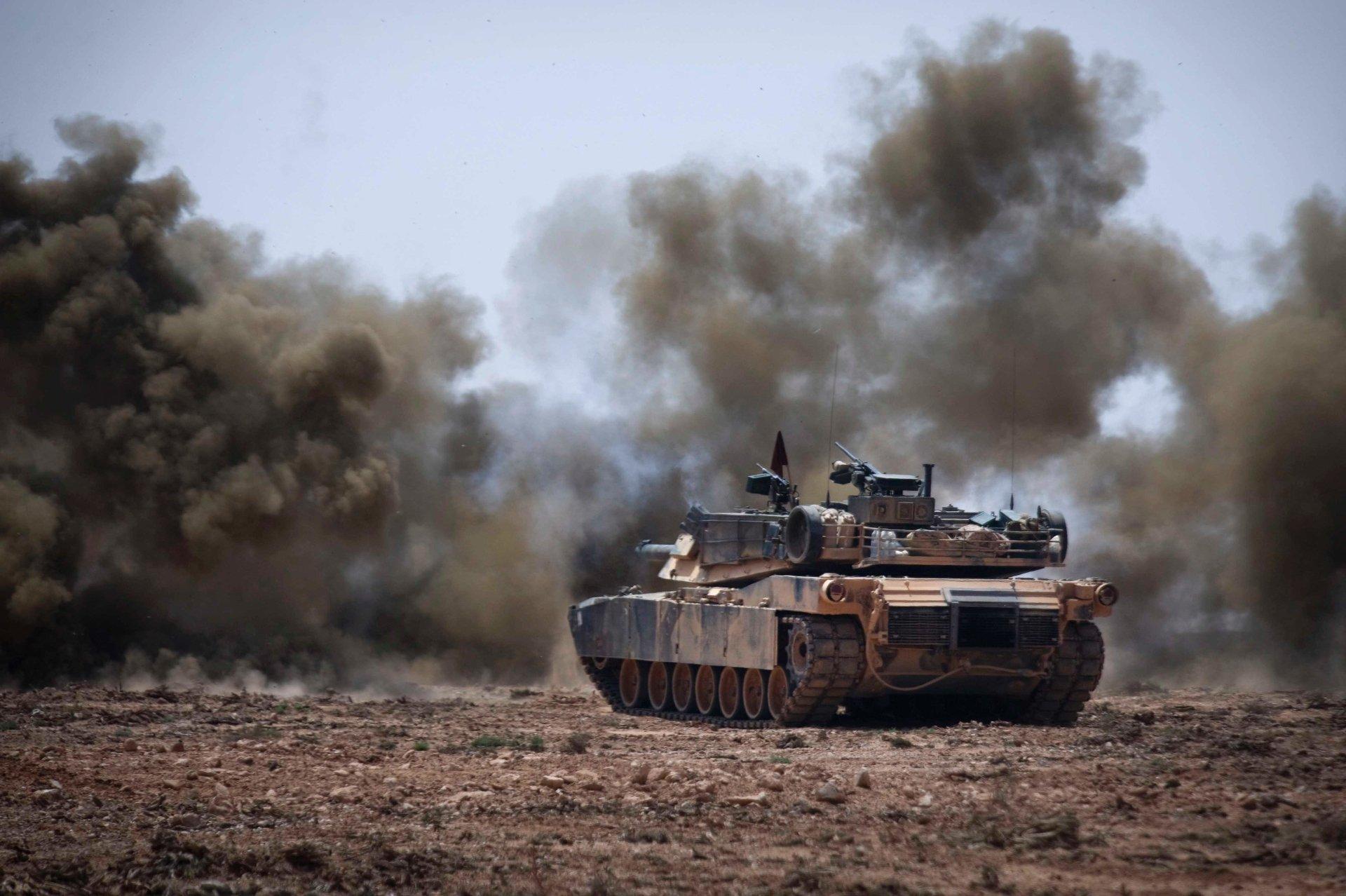 M1 Abrams 4k Ultra Hd Wallpaper Background Image