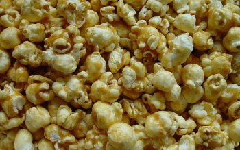 Food Popcorn Caramel Sweets Dessert HD Wallpaper | Background Image