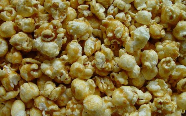 Food Popcorn Caramel Sweets Dessert HD Wallpaper | Background Image