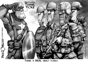 Preview Holiday - Veterans Day Art