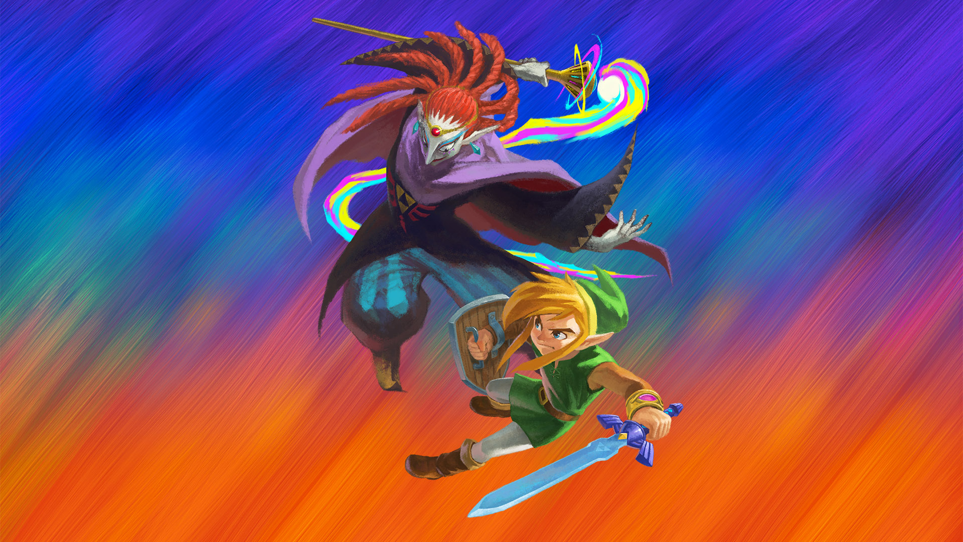 The Legend Of Zelda A Link Between Worlds HD Wallpaper