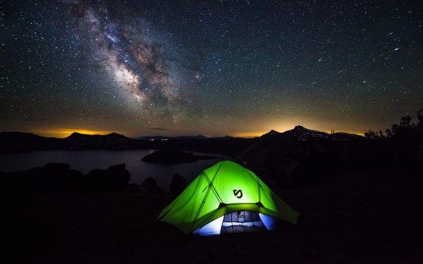 Fotografía Camping Vía Láctea Fondo de pantalla HD | Fondo de Escritorio
