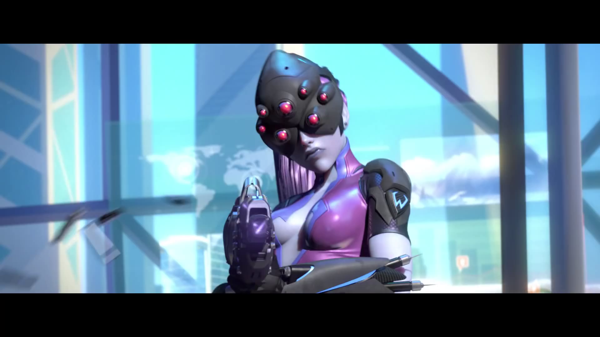 widowmaker overwatch wallpaper 1920x1080 - photo #9