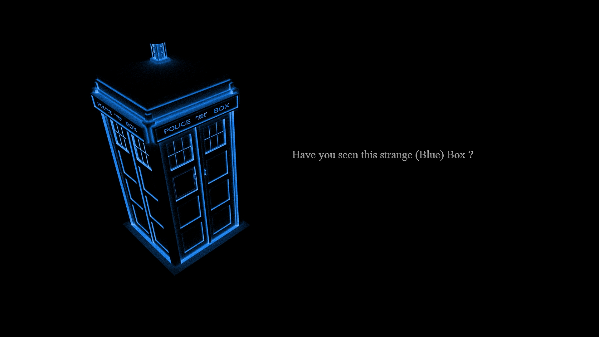 Doctor Who Hd Wallpaper Background Image 1920x1080 Id