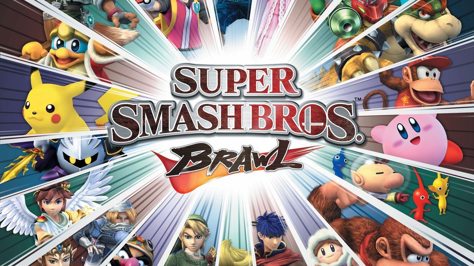 Super Smash Bros Brawl Hd Wallpaper Background Image
