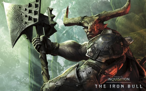 Video Game Dragon Age: Inquisition Dragon Age The Iron Bull HD Wallpaper | Background Image