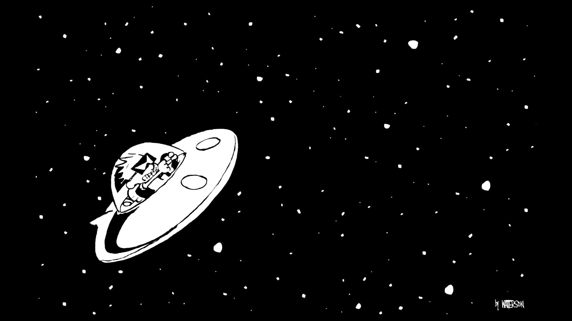 Fumetti - Calvin & Hobbes  Calvin Sfondo