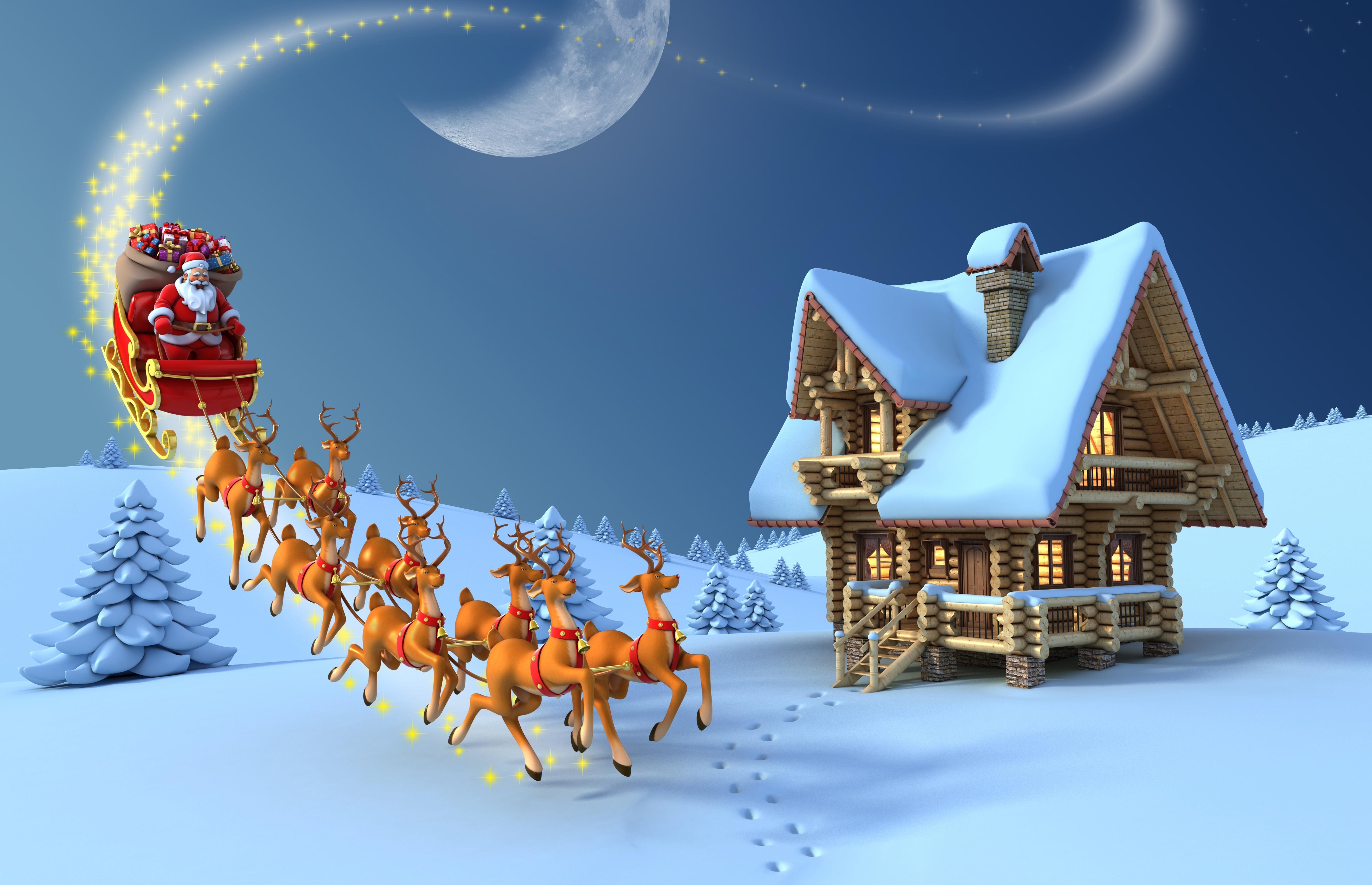 Merry Christmas 5k Retina Ultra HD Wallpaper