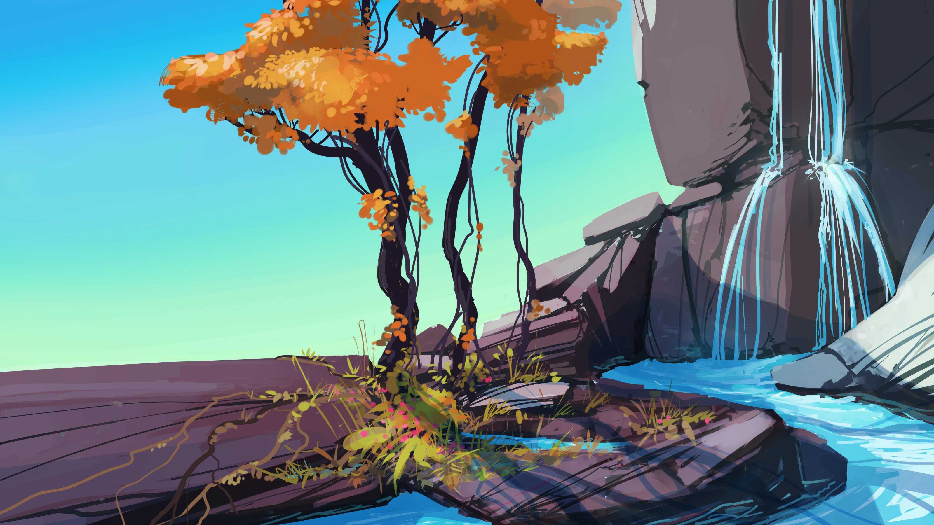 Landscape hd wallpaper background image 3200x1800 id - 3200x1800 wallpaper ...