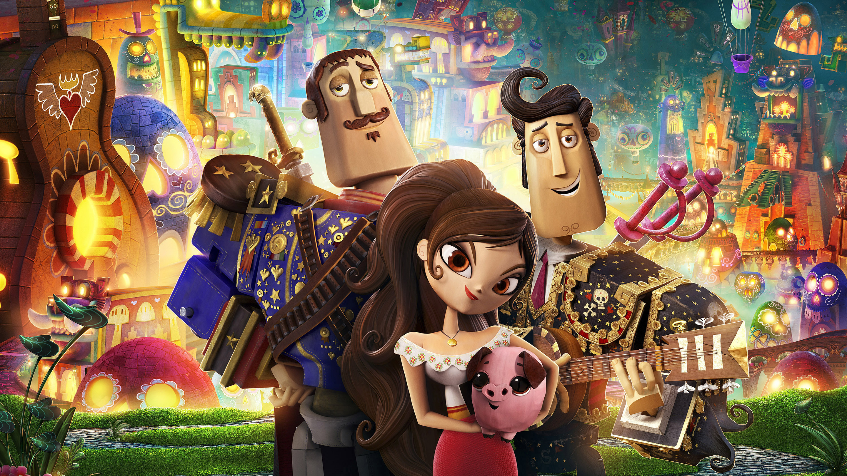 The Book Of Life Hd Wallpaper Background Image 2880x1620 Id