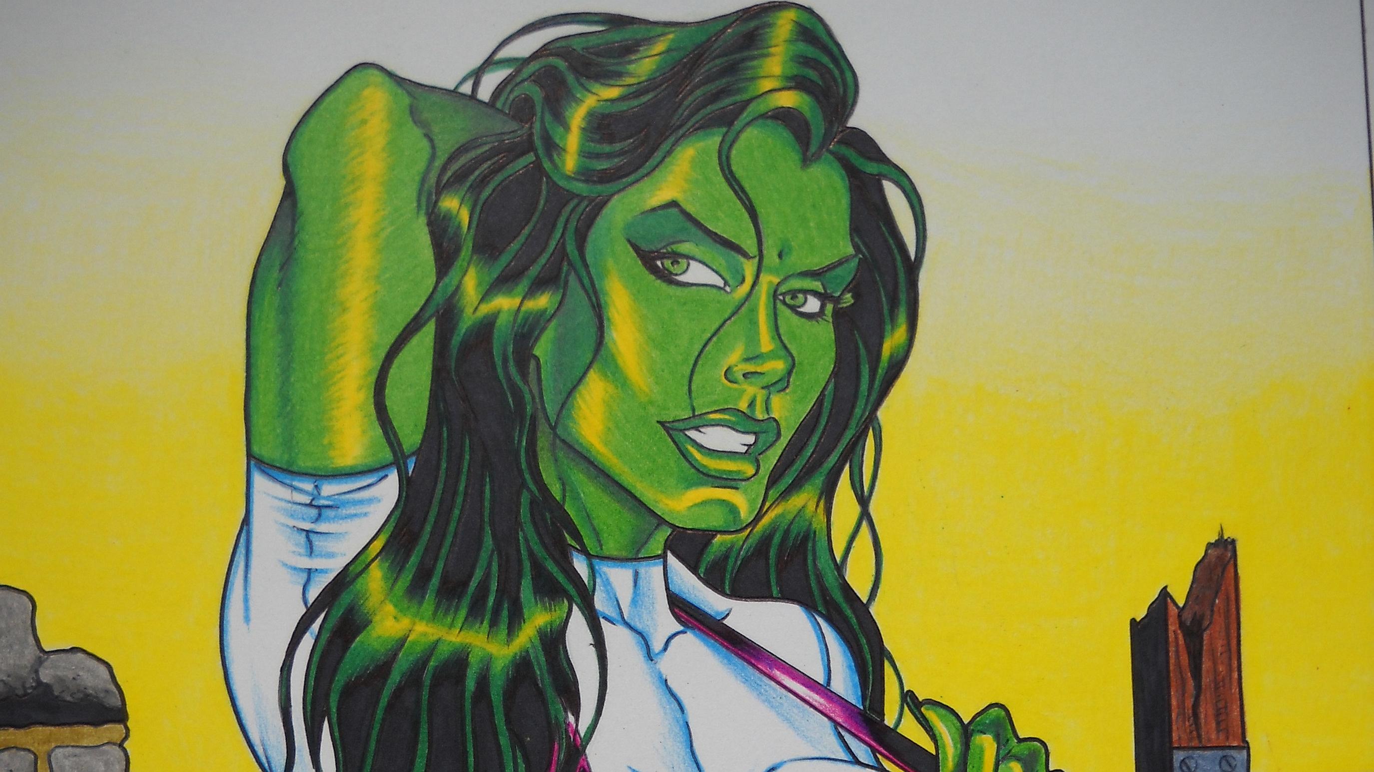 Miss hulk fond d 39 cran hd arri re plan 2750x1547 id - Telecharger hulk ...