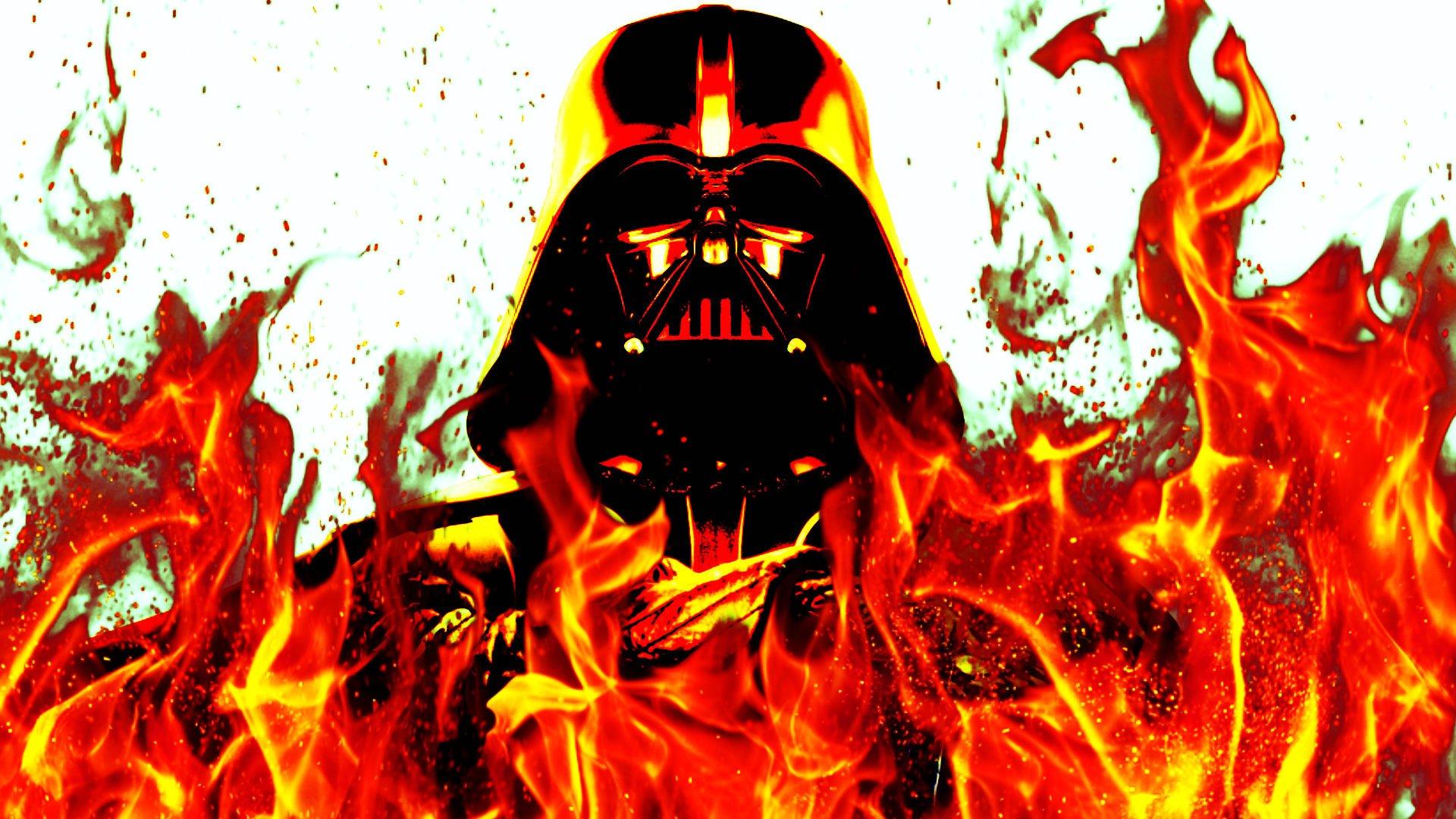 Sci Fi - Star Wars  Darth Vader Fire Warrior Wallpaper