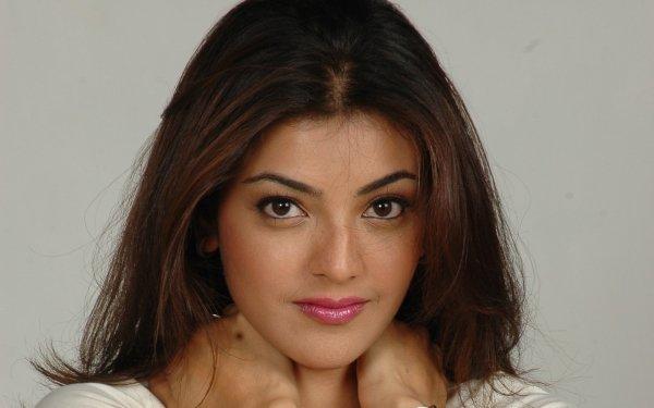 Kändis Kajal Aggarwal Skådespelerskor Indien Face Bollywood HD Wallpaper | Background Image