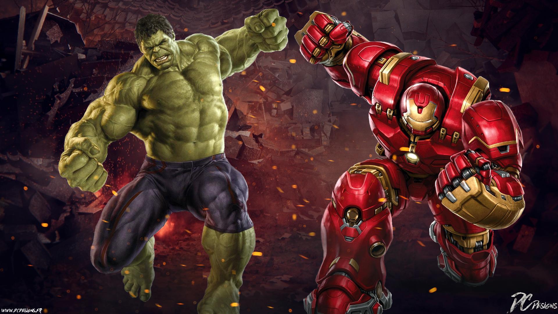 Hulk vs hulkbuster fonds d 39 cran arri res plan - Telecharger hulk ...
