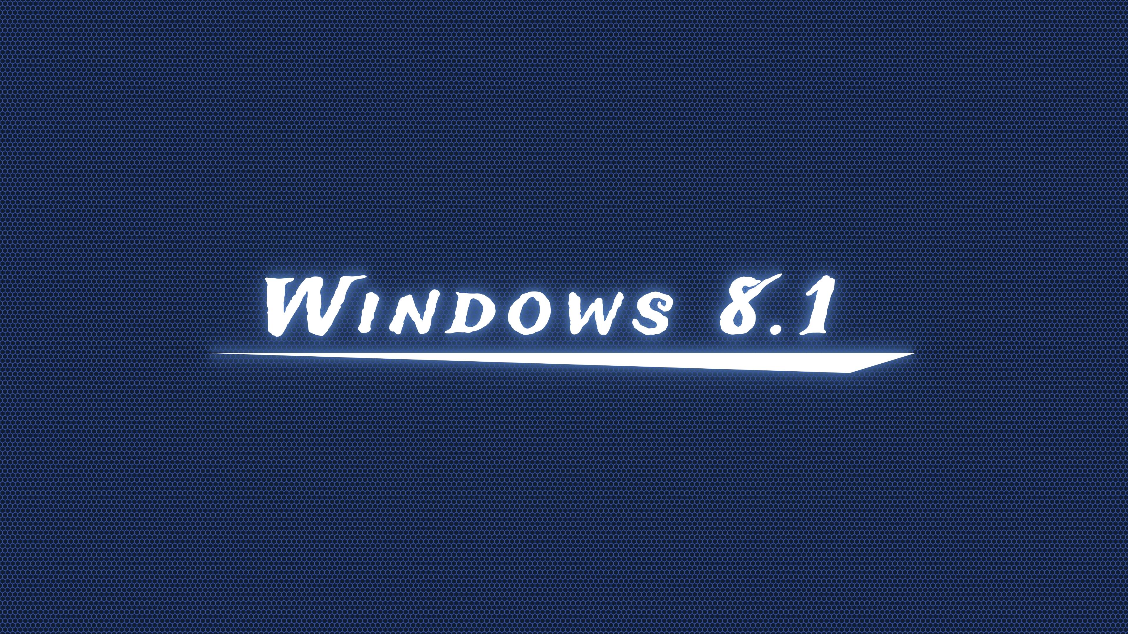 Windows 81 Dark Blue Wallpaper 4k Ultra Fondo De Pantalla