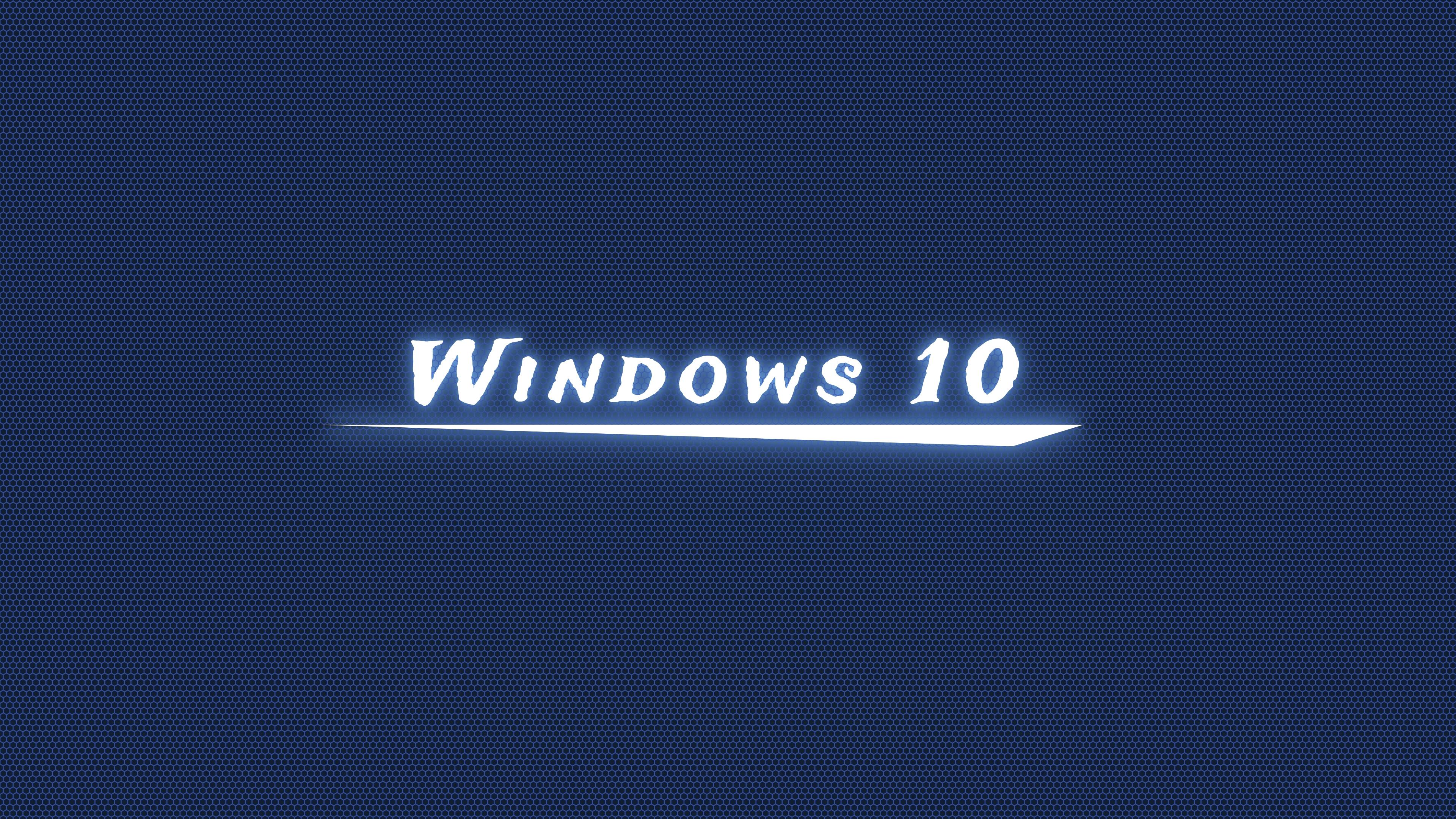 Windows 10 Dark Blue Wallpaper 4k Ultra Hd Wallpaper Background