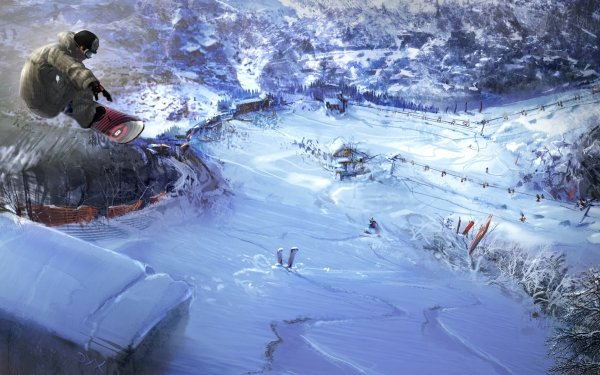 Video Game 1080° Snowboarding HD Wallpaper   Background Image