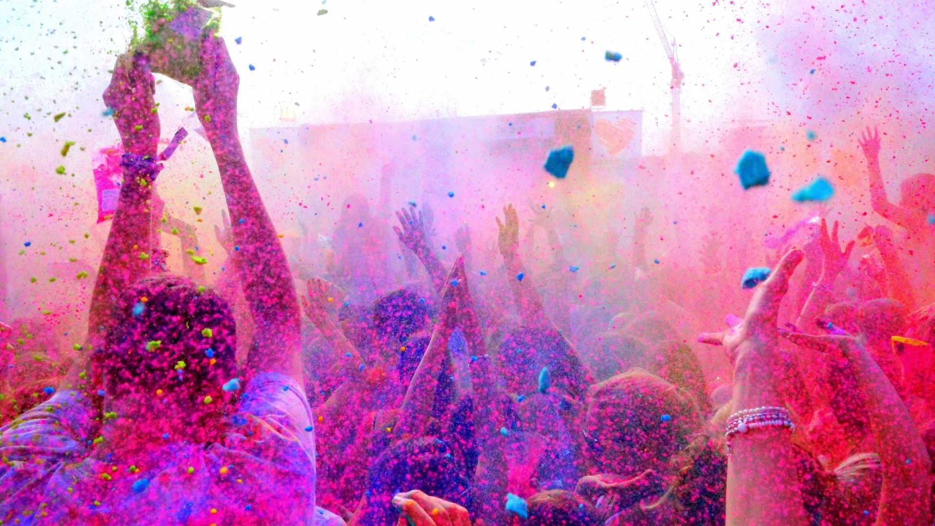 Holiday - Holi  Colors People Wallpaper