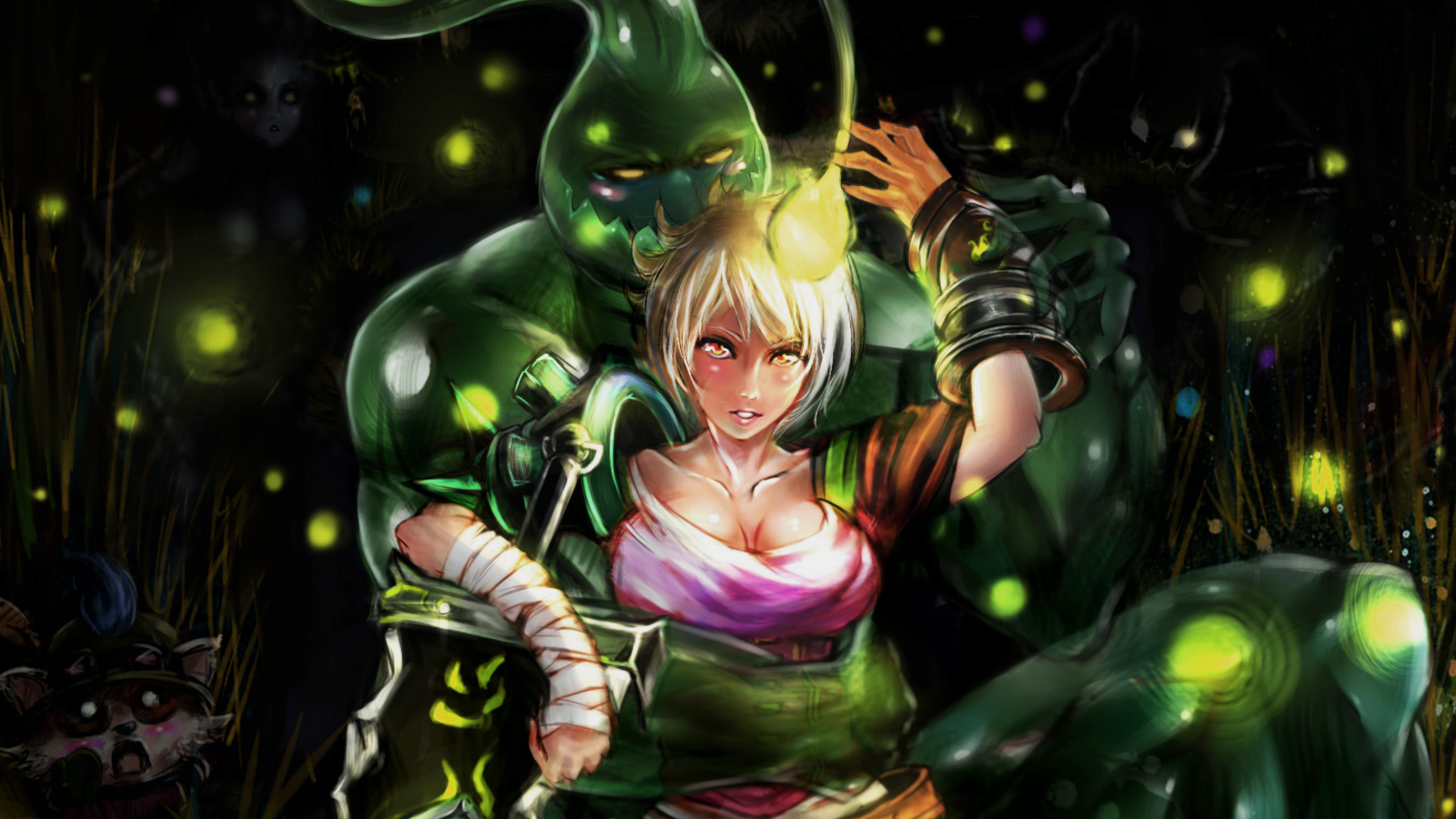 League Of Legends Riven Wallpaper
