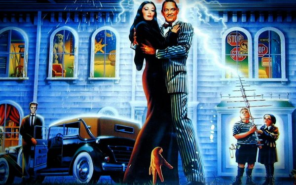 Video Game The Addams Family HD Wallpaper   Background Image