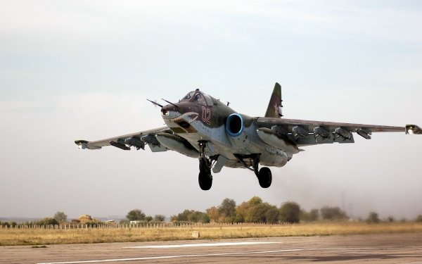 Military Sukhoi Su-25 Jet Fighters HD Wallpaper | Background Image