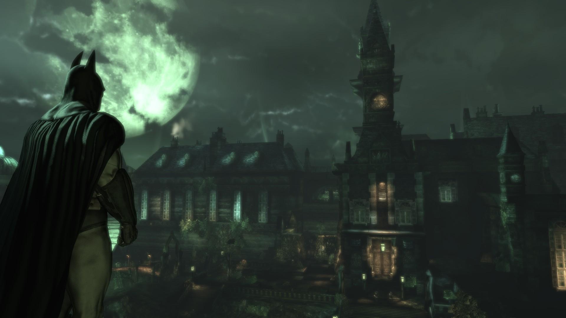 Batman Arkham Asylum Fondo De Pantalla Hd Fondo De