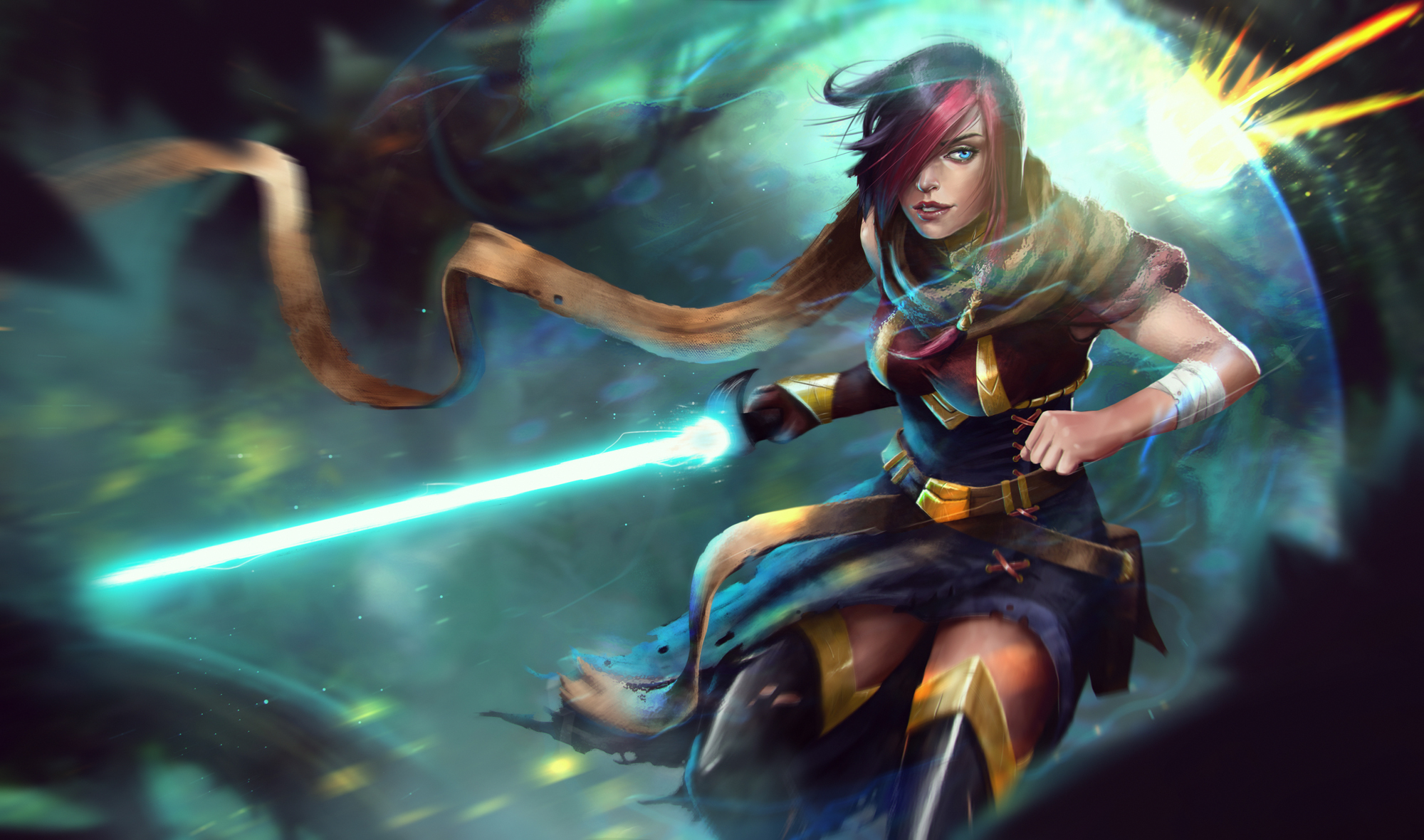 57 Fiora League Of Legends Hd Wallpapers Background Images