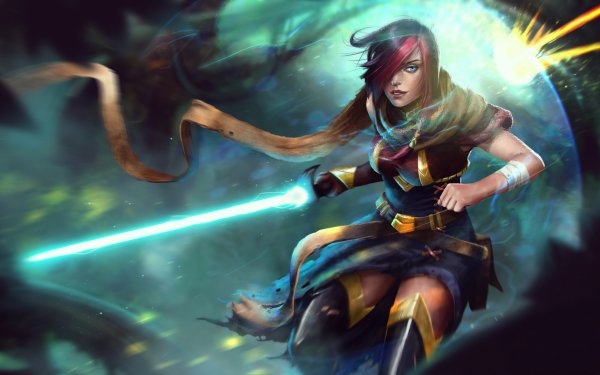 Video Game League Of Legends Fiora HD Wallpaper   Background Image