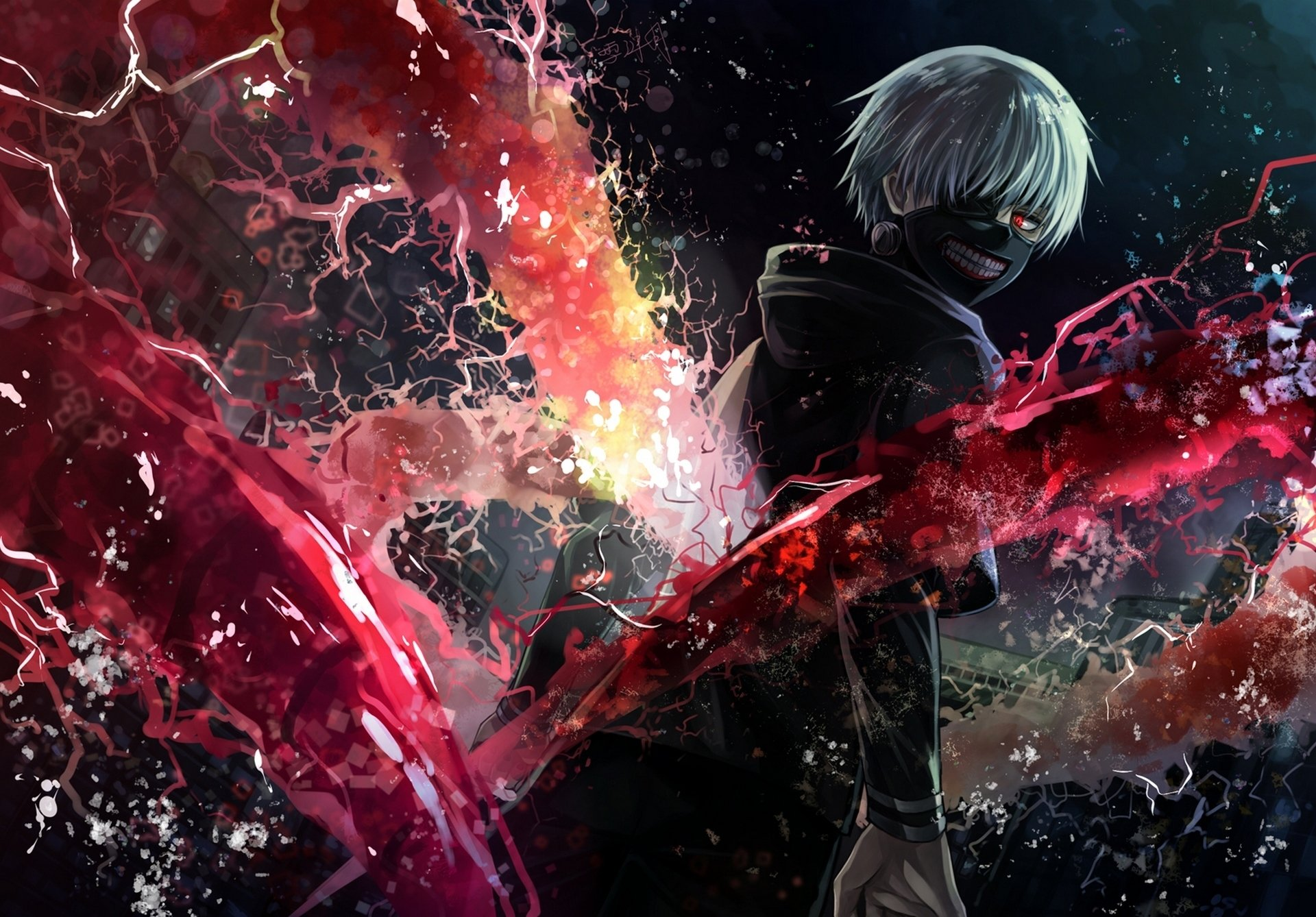 496 ken kaneki hd wallpapers | background images - wallpaper abyss