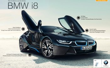86 Bmw I8 Hd Wallpapers Background Images Wallpaper Abyss
