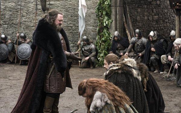 TV Show Game Of Thrones Robert Baratheon Mark Addy Eddard Stark Sean Bean HD Wallpaper | Background Image