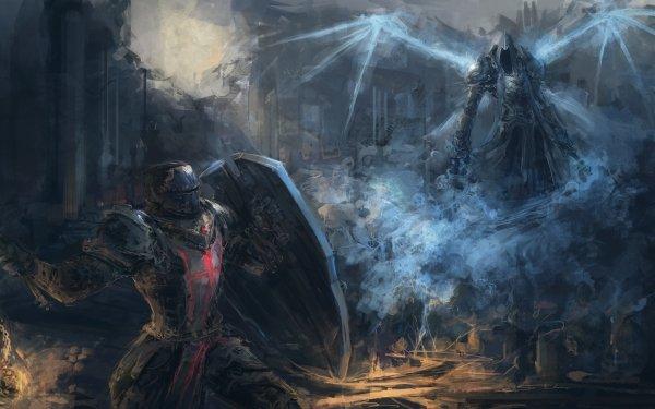 Video Game Diablo III: Reaper Of Souls Diablo Crusader Malthael HD Wallpaper | Background Image