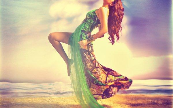 Women Malvika Rallan Models India Indian HD Wallpaper | Background Image