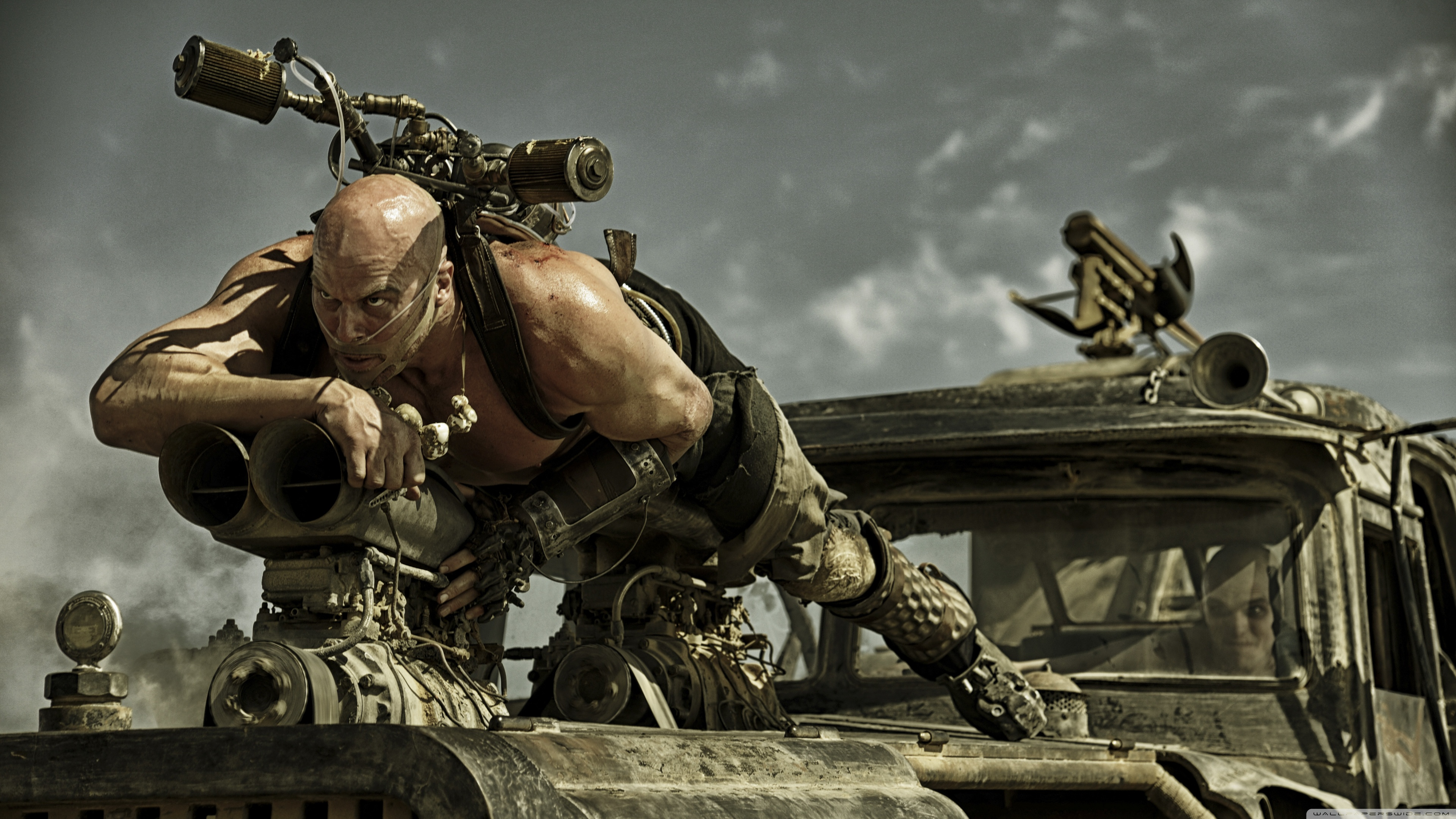 mad max fury road 4k ultra hd wallpaper background image