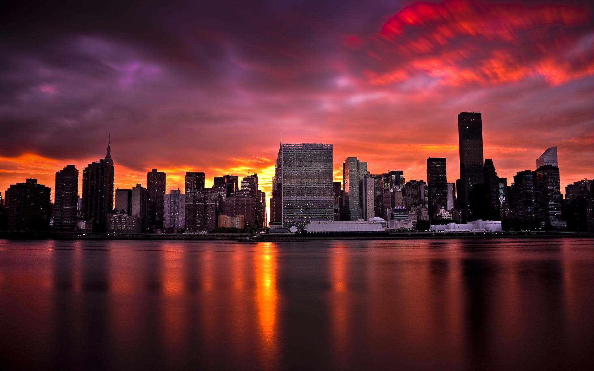 city sunset wallpaper 7106 - photo #23