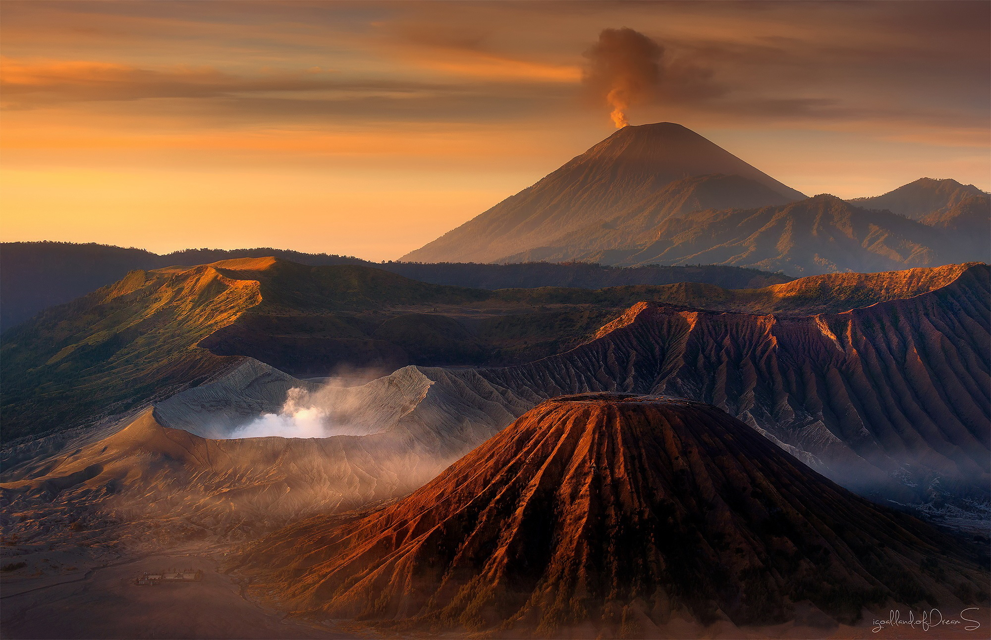 Mount Bromo Full Hd Wallpaper And Background Image