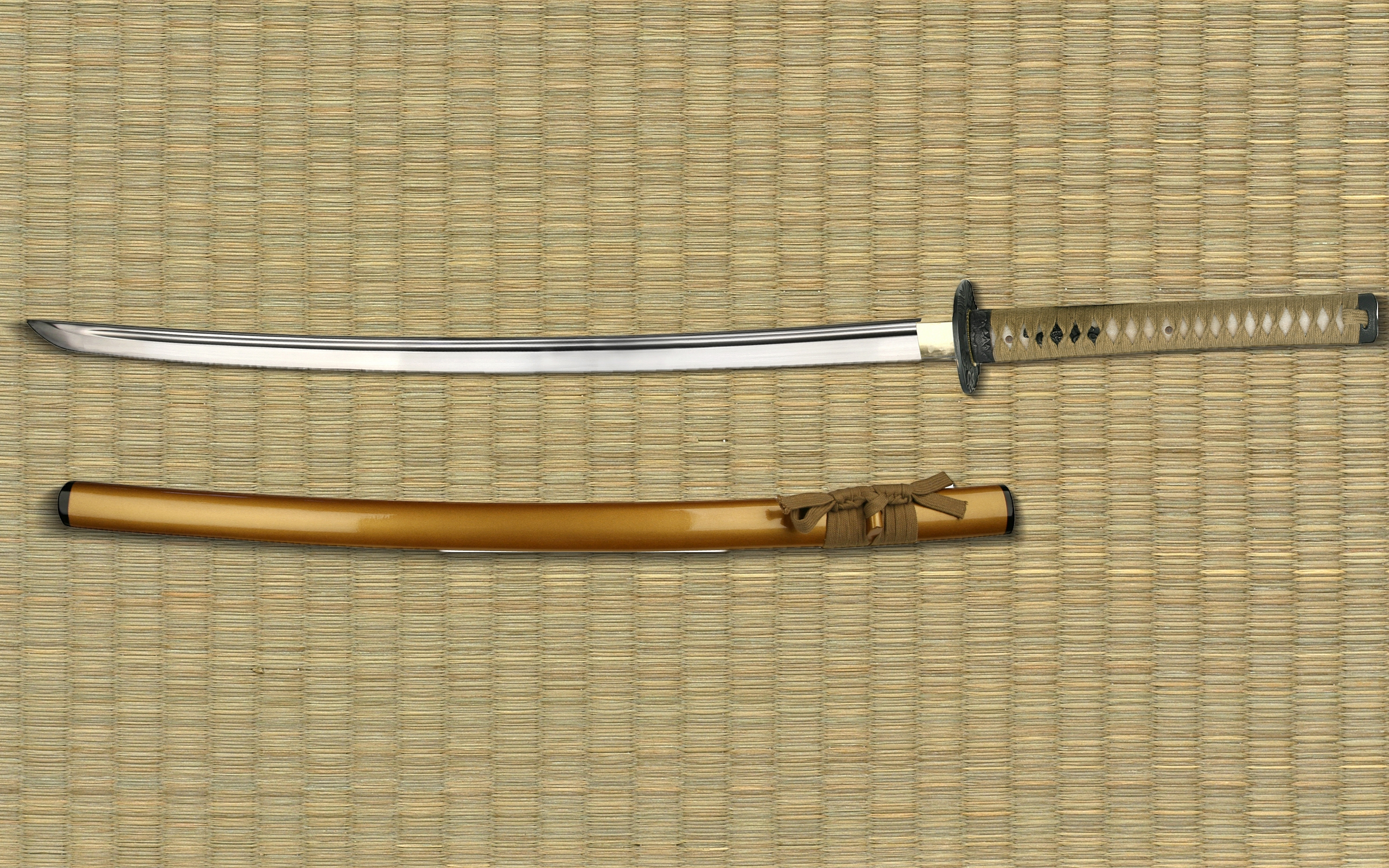 Samurai Sword Hd Wallpaper Background Image 2560x1600 Id