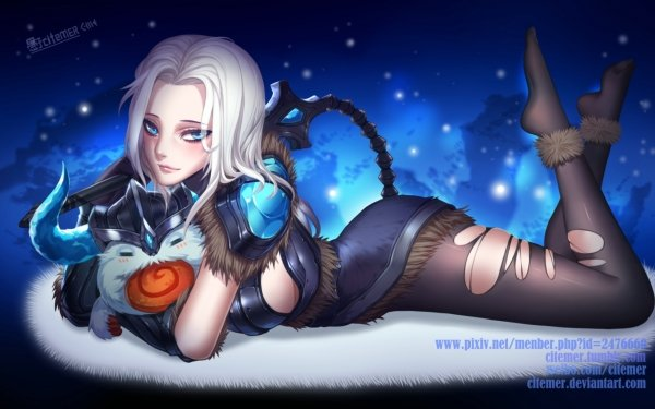 Video Game League Of Legends Sejuani Poro HD Wallpaper | Background Image