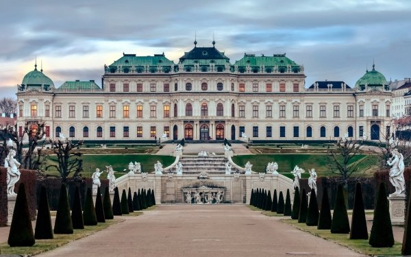 Man Made Belvedere Palace Palaces Austria Vienna Palace HD Wallpaper   Background Image