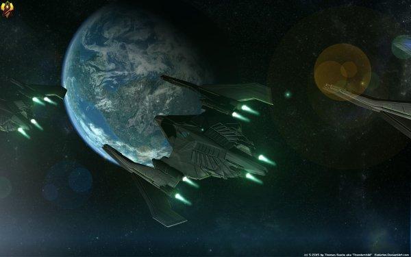 Sci Fi Spaceship Starship Starfighter HD Wallpaper   Background Image