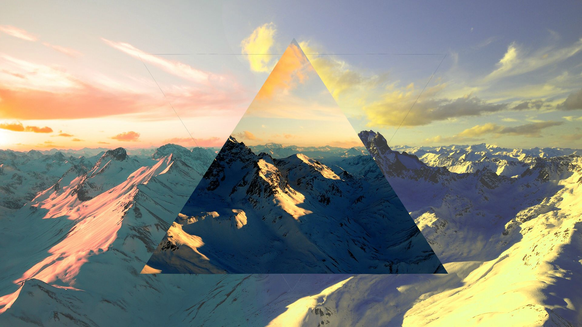 Polyscape full hd wallpaper and background image for Full wall wallpaper